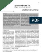 MECANISMOS DE REPLICACIÓN DE LOS PLÁSMIDOS BACTERIANOS