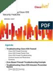 BRKSEC-3007 - Advanced Cisco IOS Security Features (2010 Las Vegas)