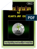 General Agriculture for ICAR's JRF Exam 2011-12