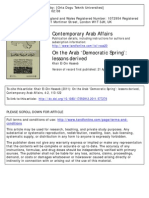 Arab Democratic Spring