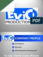 Evio Productions Company Profile