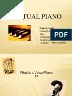 Virtual Piano Music Sheet | Leisure