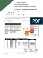 Organic Chem Notes