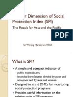 Gender Dimension of Social Protection Index (SPI) - 4 Mar 2013