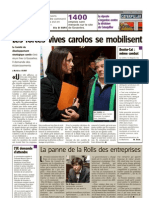 Vers l'Avenir - Les Forces Vives Carolos Se Mobilisent - 02.03.13