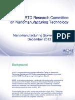 ASME Presentation - Nanotechnology