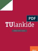 TUlankide urtekaria / anuario 2012
