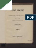 Czesław Jankowski, Powiat Oszmianski, 1898 3/4