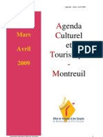 Agenda Mars Avril 09