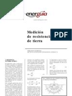 Medicion Resistencias de Tierra - Energuia