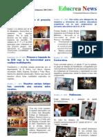 Boletín 1 curso 2012 2013 Educrea News