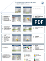 2013-14 Staff Calendar