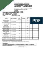 Nouvelle version fiche d'évaluation 08 02 2011