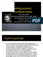 Share Seputar Penerbitan Buku by Jaharuddin