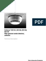 DO1101 - DO1102 - DO1103 - DO1104 Wide Spectrum Smoke Detectors Collective