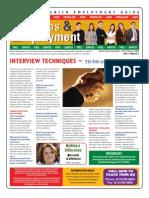 Empleos & Employment Edition 3- Feb. 13 2009