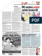 thesun 2009-02-25 page10 mic members protest outside gerakan hq