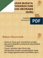 101900994 Budaya Musyawarah Dan Kolaborasi