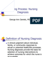 Nursing Process Nursing Diagnosis