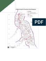 Metalic Deposit Map of the Philippines