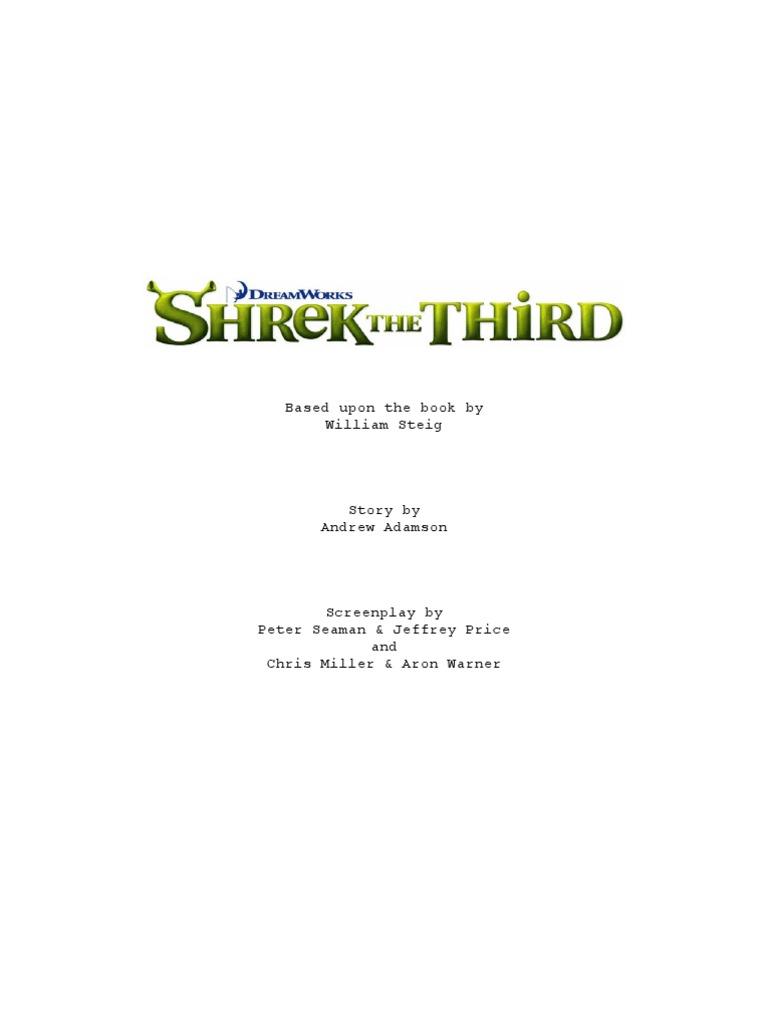 script_shrekthethird.pdf | Leisure