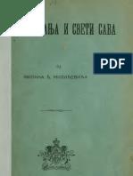 Milan Milicevic - Stefan Nemanja i Sveti Sava 1913