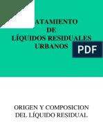 Tratamiento de Liquidos Residuales Urbanos