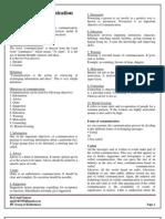Business Communication Lecture Notes Unit I