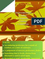 SPC Core Values
