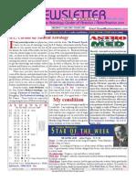 ASTROAMERICA NEWSLETTER DATED MARCH 05, 2013