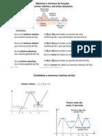 6 - Máximos e mínimos de funções. Formas indeterminadas_a regra de L´Hôpital