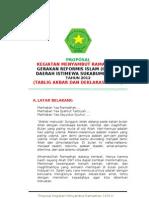 Proposal Menyambut Ramadhan 2012