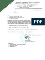 Edaran 3693 Info Awal Perubahan Serdos 2013