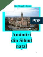 Amintiri din Sibiul natal