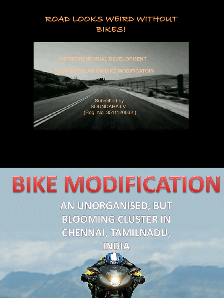 Automobilemotor Bike Modification Business in Chennai