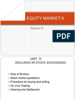 SYBFM Equity Market II Session IV Ver1.0