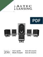 AltecLansing251Speakers Manual