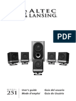 AltecLansing251Speakers Manual