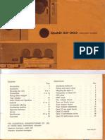 Quad 33-303 Manual