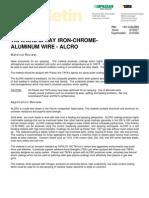 1.9.1.2-ALCRO - Arc Sprayed Iron-Chrome-Aluminum Wire