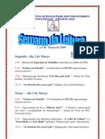 Programa Semana da Leitura 2009 -  BE nº4 de loulé