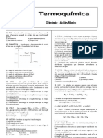 Lista Geral de Termoquímica