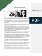 Os três principais pensadores clássicos da Sociologia