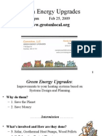 Green Energy Upgrades