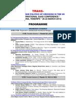 TRANS Final Programme