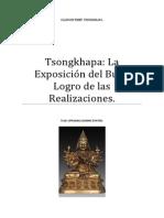 Tsongkhapa La Exposición del Buen Logro de las Realizaciones.