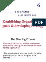 Chptr 6 Planning