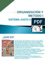 ORGANIZACIÓN Y METODO I