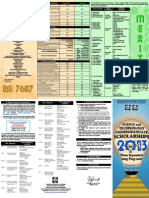 2013 Undergraduate Brochure