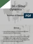 Unit 04 - Group Dynamics